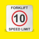 Limite velocidad carretillas