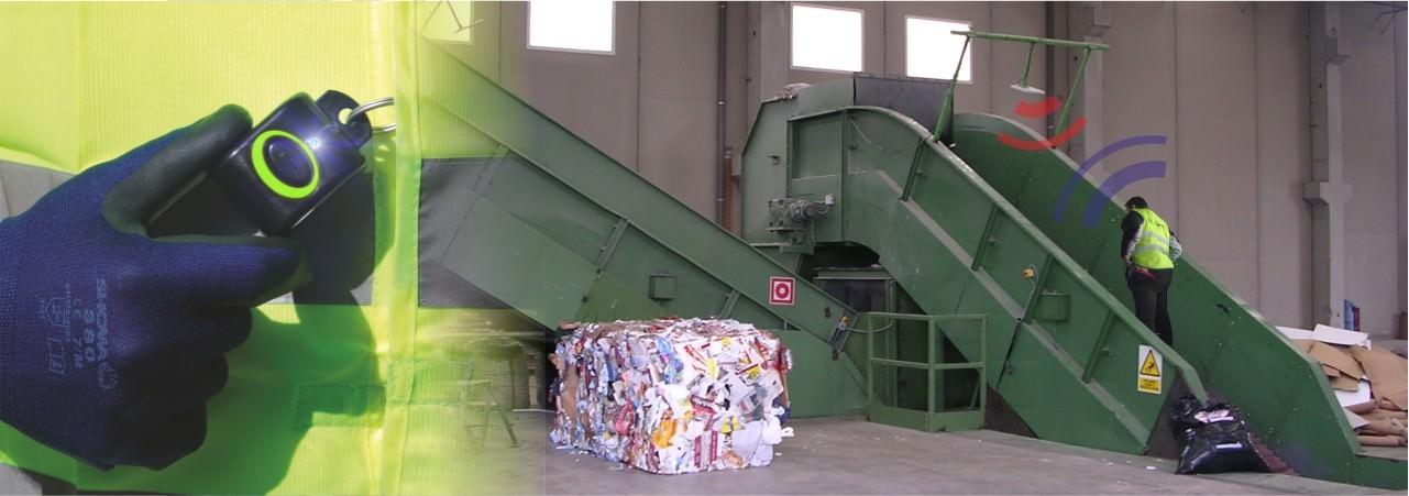 Evitar accidentes cintas reciclaje
