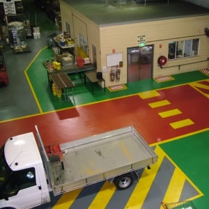 The three principles that help enhance pedestrian safety around forklifts
