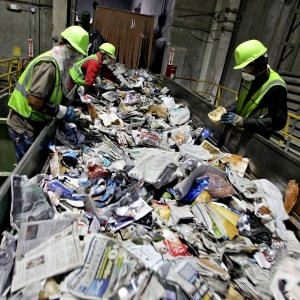 Reducing risks to workers in the recycling industry