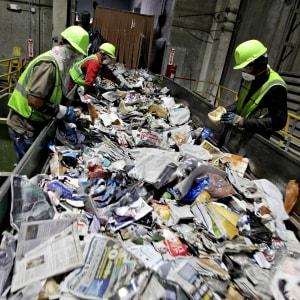 Reducción de riesgos para los trabajadores de reciclaje