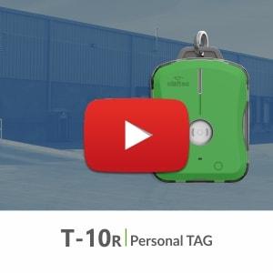 T-10R Tag personal de seguridad
