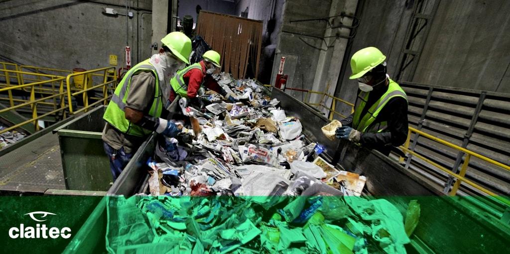 Seguridad trabajadores reciclaje