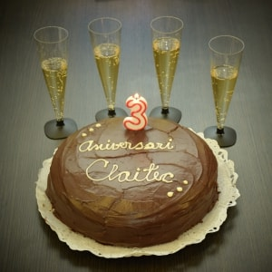 Claitec turns three years old thanks to you!
