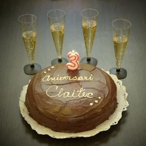 ¡Claitec cumple tres años de vida gracias a ti!