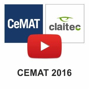 Claitec en el CeMAT 2016: ¡Gracias a todos los que nos visitaron!