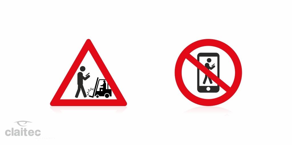 Mobile phones risk in industrial warehouses