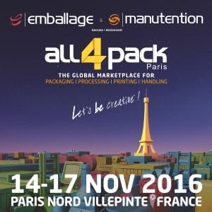 ALL4PACK París 2016