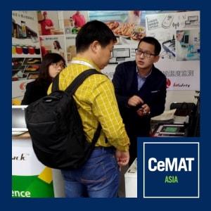 Claitec at CeMAT-ASIA 2016