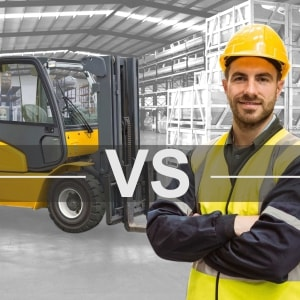 The perpetual dilemma: what comes first, the forklift or the pedestrian?