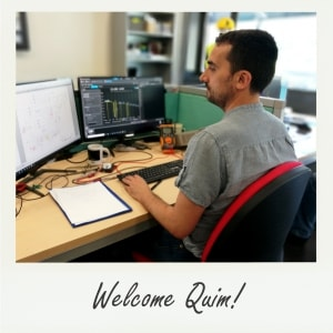 Welcome Quim!