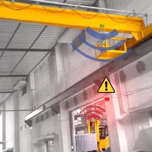 El Sistema PAS también mejora la seguridad en los puentes grúa
