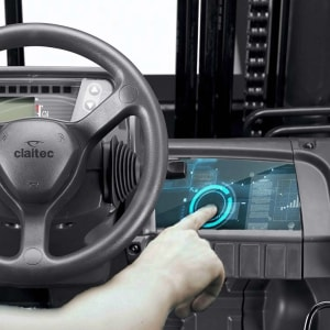 Biometric recognition of the forklift driver