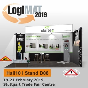 Claitec to exhibit at Logimat 2019, we look forward seeing you there!