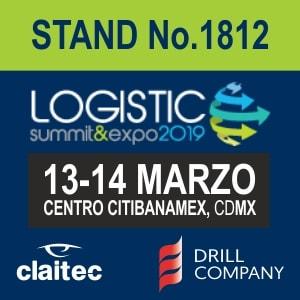 Visítanos en el Logistic Summit & Expo 2019
