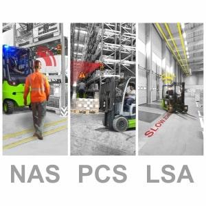 Tres soluciones para controlar el tránsito en la industria