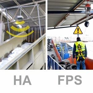 Dos sistemas de seguridad diseñados para la industria del reciclaje.