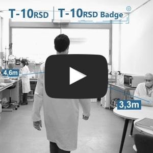Social distance T-10RSD Video