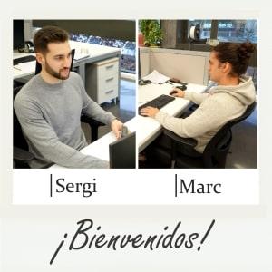 ¡Bienvenidos, Sergi y Marc!